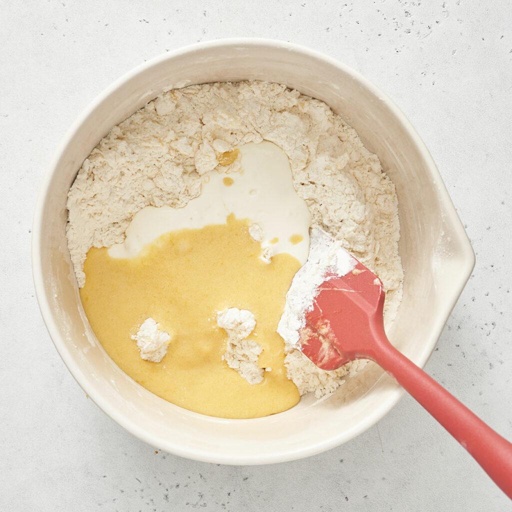 lemon muffin batter