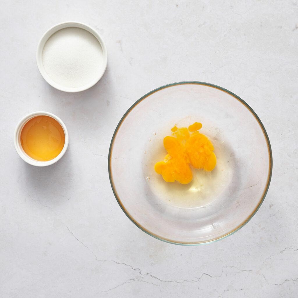 Egg Sugar Honey