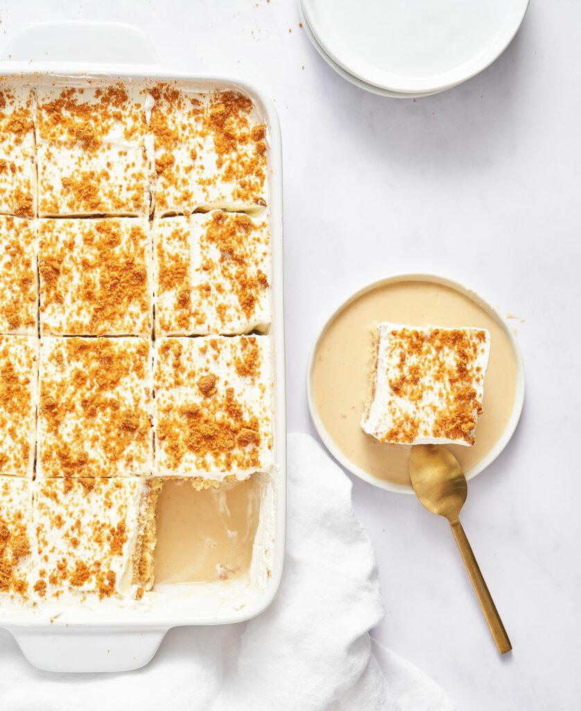 lotus Tres Leches Cake