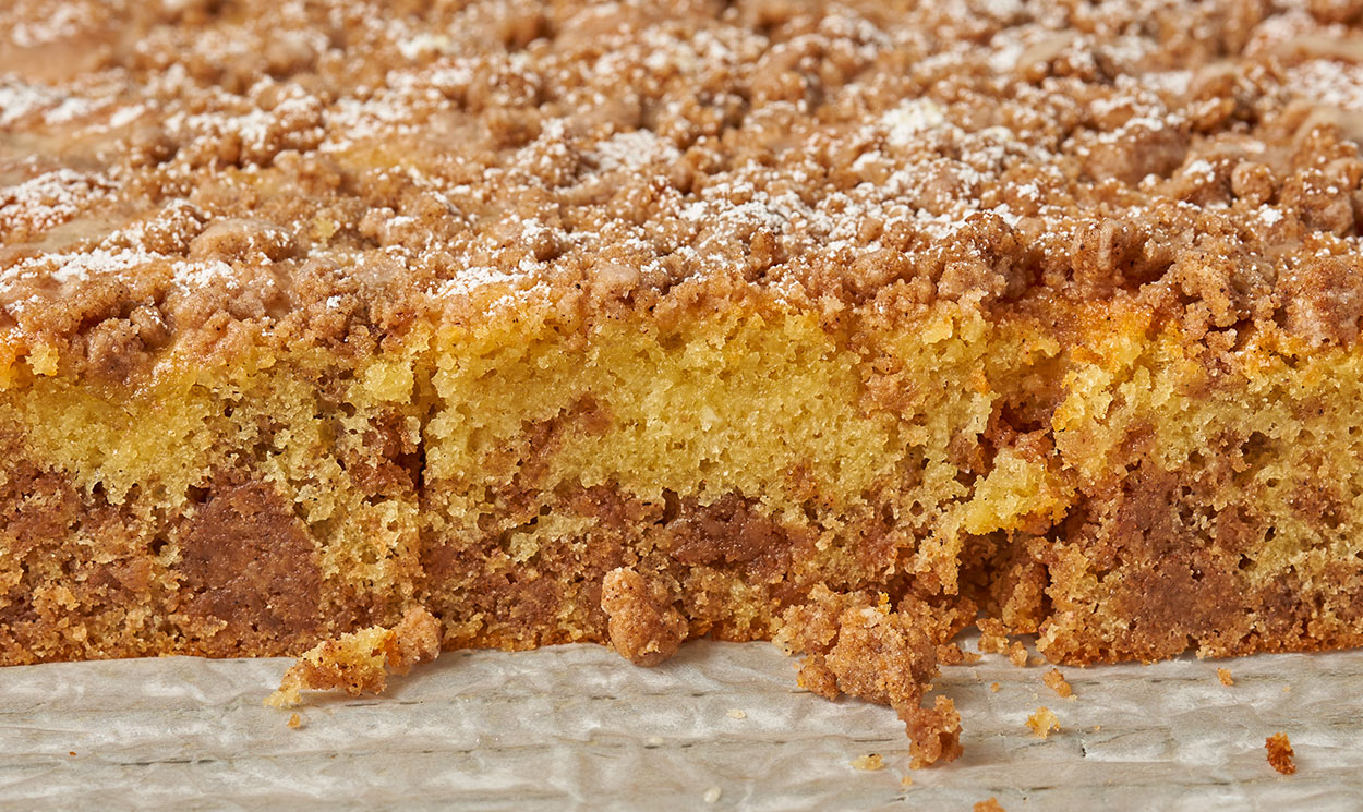 THE Coffee Cake with a lot of Streusel