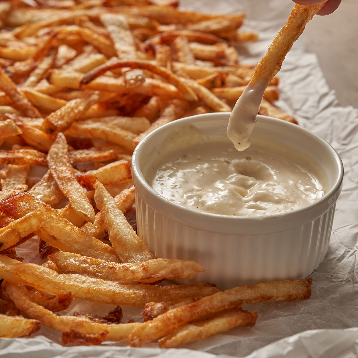 cold fry French fries