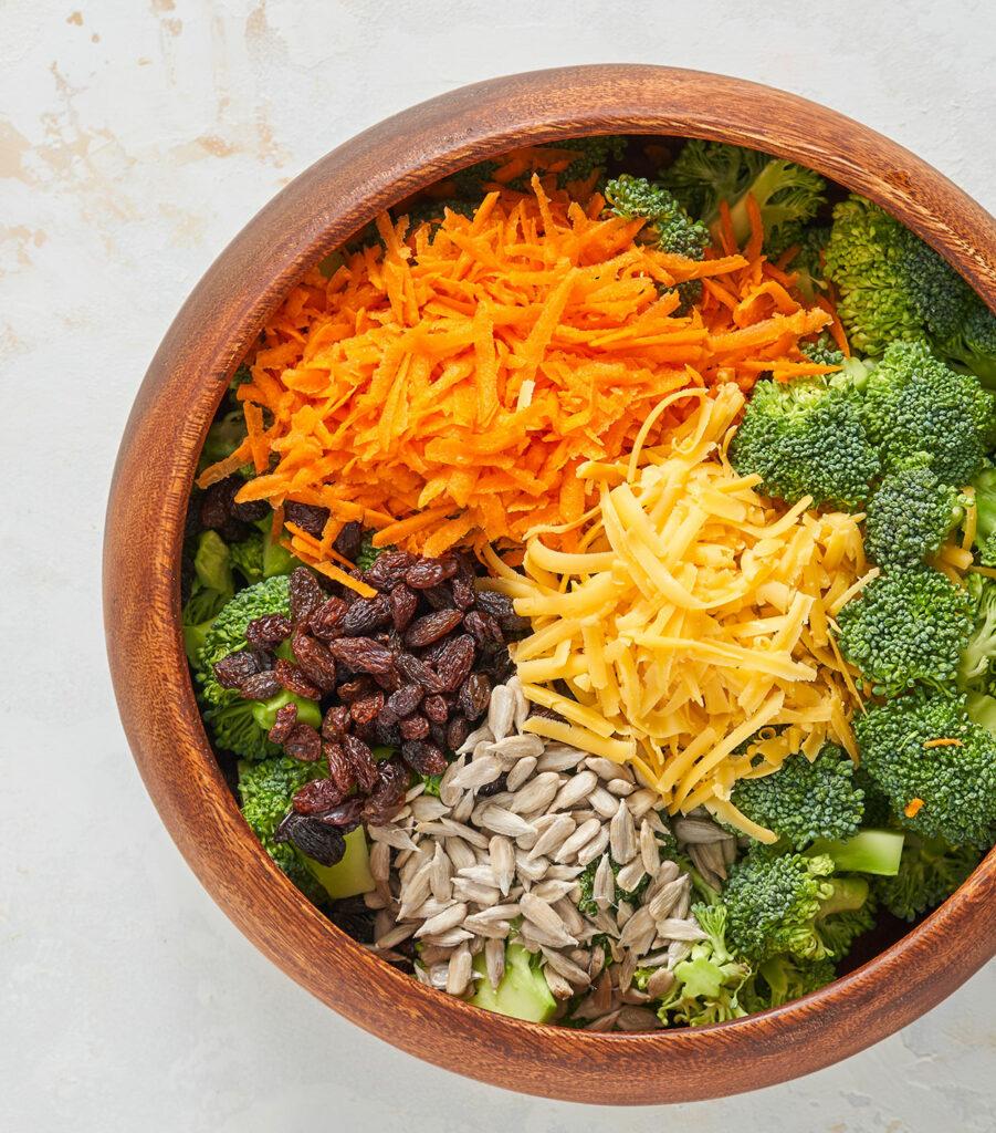 Broccoli Salad with Creamy Dressing