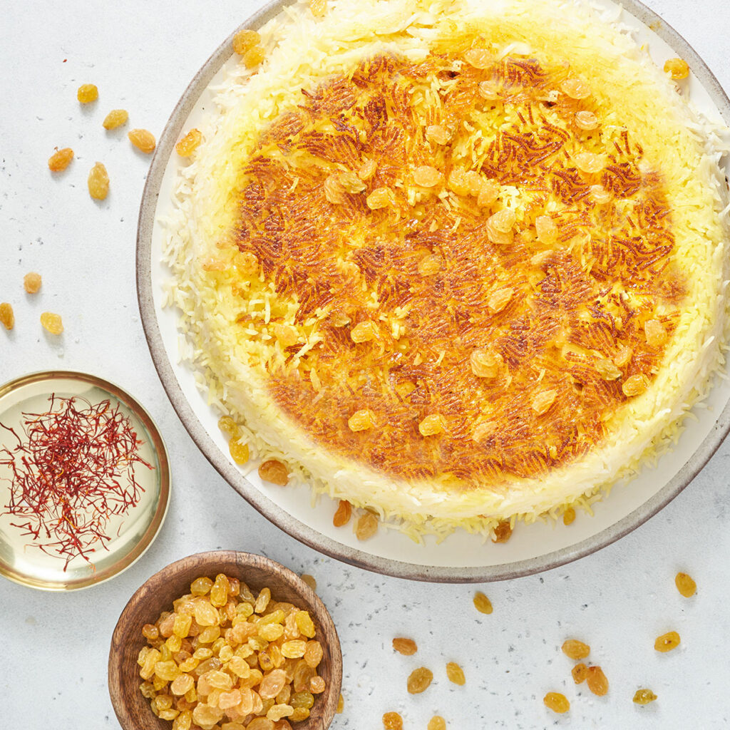 Tahdig – Persian Crispy Butter Rice